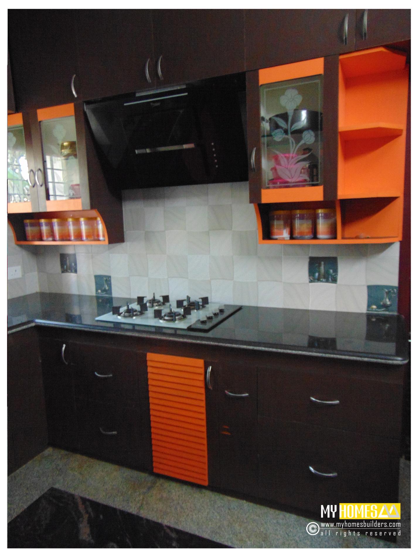 Kitchen Interior, Modern kerala home Kitche, Modern Kitchen Designs