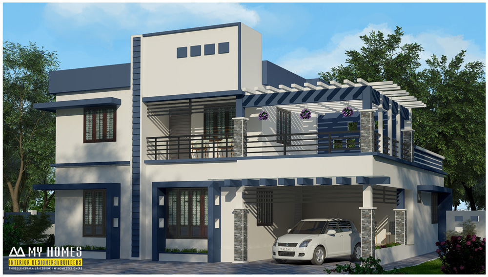 kerala contemporary house designs