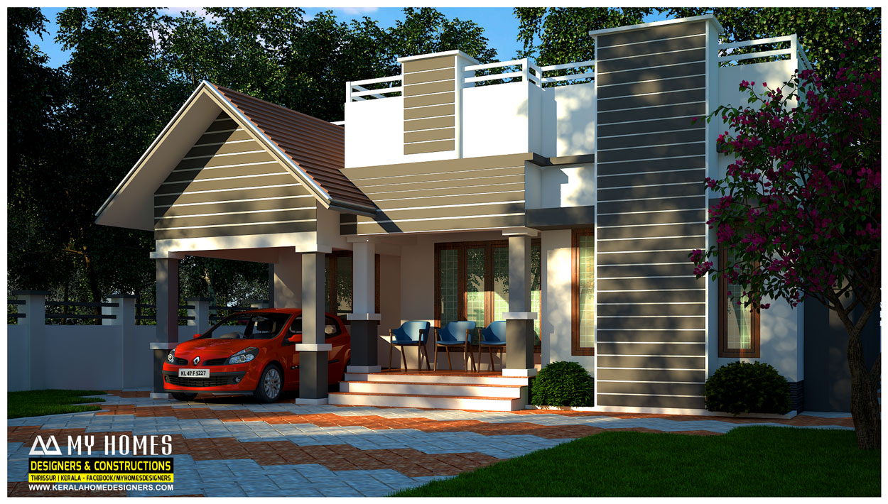 kerala low budget house designs