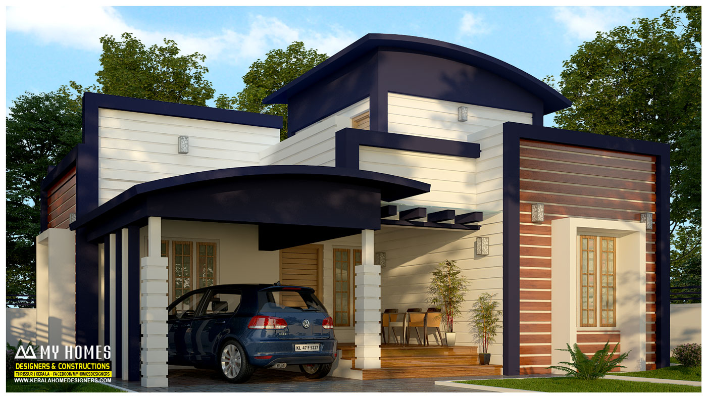low budget house design in kerala