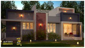 low cost home design kerala