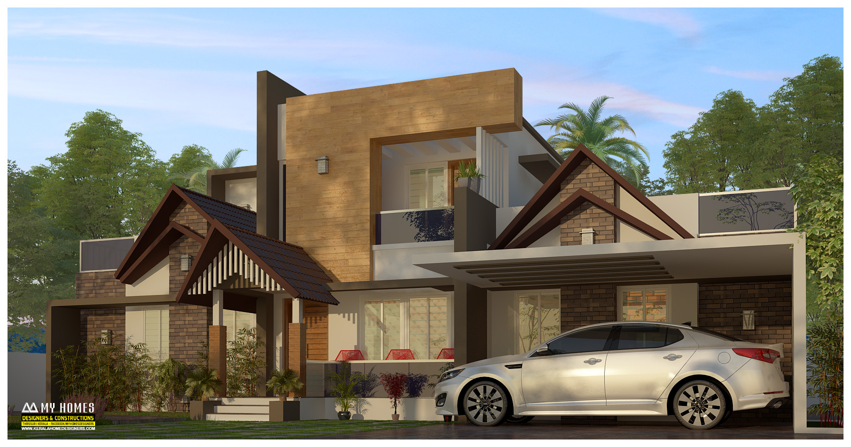 latest homes designs in kerala