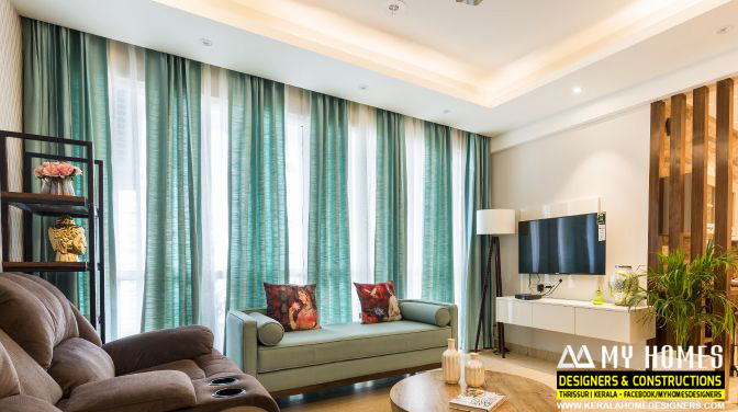 kerala homes curtain designs