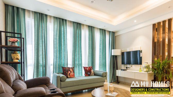 kerala homes curtain designs